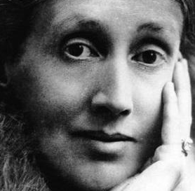 Virginia Woolf tight crop